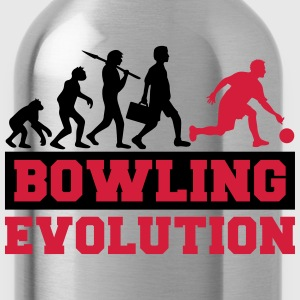 Bowling Evolution T-Shirts - Water Bottle