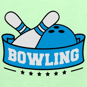 Bowling Banner T-Shirts - Women's Tank Top by Bella