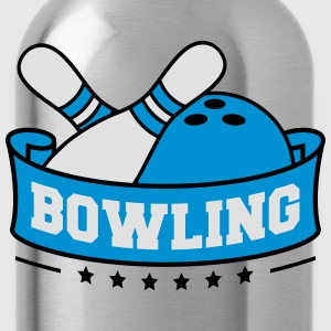 Bowling Banner T-Shirts - Water Bottle