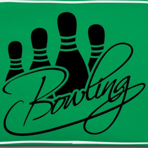 Bowling Pins Text Logo Design Tee shirts - Sac Retro