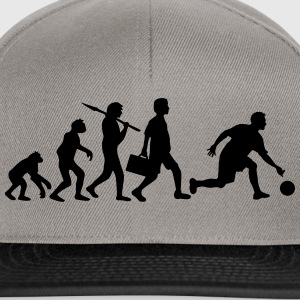 Evolution Of Bowling T-Shirts - Snapback Cap
