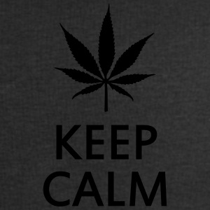 keep calm and smoke cannabis weed pot Camisetas polo  - Sudadera hombre de Stanley & Stella