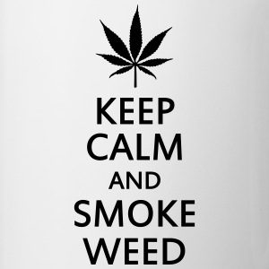 keep calm and smoke weed Coques pour portable et tablette - Tasse
