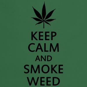 keep calm and smoke weed Bluzy - Fartuch kuchenny