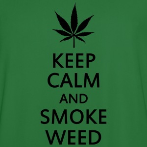 keep calm and smoke weed Pullover & Hoodies - Männer Fußball-Trikot