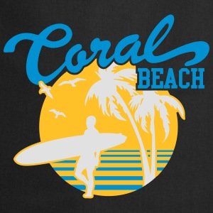 Coral Beach Surfers Heaven Sweat-shirts - Tablier de cuisine