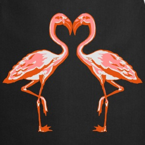 two flamingos T-Shirts - Cooking Apron
