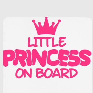 little princess on board Sweats - Tapis de souris (format portrait)