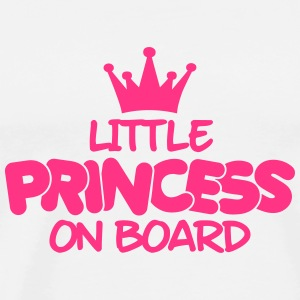 little princess on board Sweats - T-shirt Premium Homme