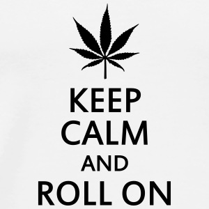 keep calm and roll on Teddy - Männer Premium T-Shirt