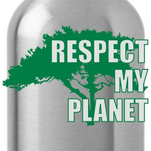 Respect My Planet T-shirts - Drinkfles