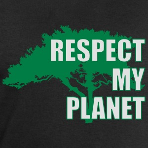 Respect My Planet T-Shirts - Men's Sweatshirt by Stanley & Stella