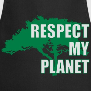 Respect My Planet Camisetas - Delantal de cocina