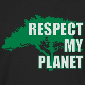 Respect My Planet T-Shirts - Männer Premium Langarmshirt
