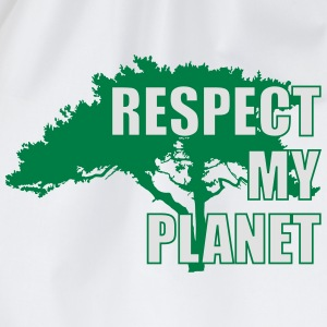 Respect My Planet T-Shirts - Turnbeutel