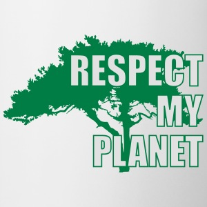 Respect My Planet Koszulki - Kubek