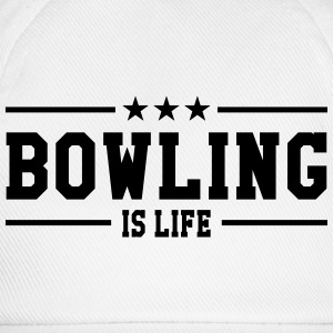 Bowling is life Tee shirts - Casquette classique