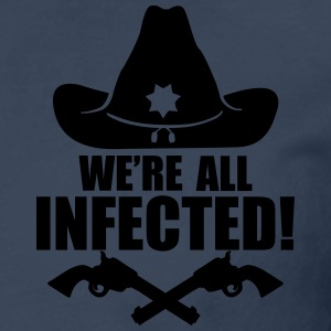 We are all infected T-shirts - Mannen Premium shirt met lange mouwen