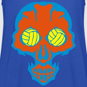 volley waterpolo tete mort skull oeil eye Sweat-shirts - Débardeur Femme marque Bella