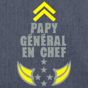 papy general chef arme etoile 5 Tee shirts - Sac bandoulière 100 % recyclé