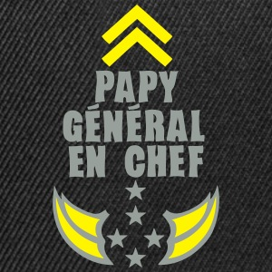 papy general chef arme etoile 5 Sweat-shirts - Casquette snapback