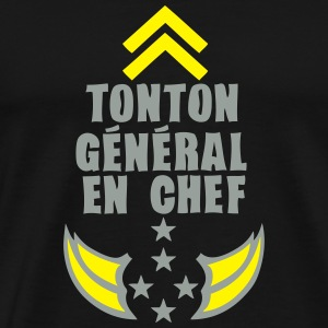 tonton general chef arme etoile 5 Sweat-shirts - T-shirt Premium Homme