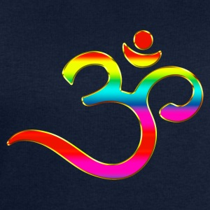 Om, Symbol, Rainbow, Buddhism, Mantra, Meditation, T-Shirts - Men's Sweatshirt by Stanley & Stella