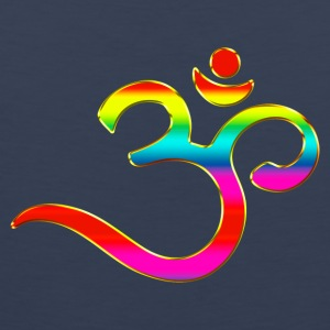 Om, Symbol, Rainbow, Buddhism, Mantra, Meditation, T-Shirts - Men's Premium Tank Top