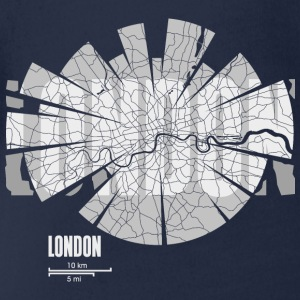 London Tee shirts - Body bébé bio manches courtes
