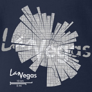 Las Vegas Shirts - Organic Short-sleeved Baby Bodysuit