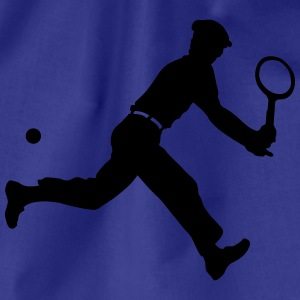 tennis retro T-shirts - Sportstaske