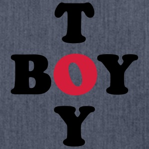 Toy Boy T-Shirts - Shoulder Bag made from recycled material