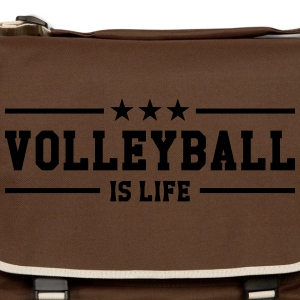 Volleyball is life T-shirts - Axelväska