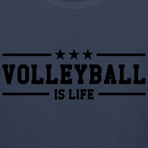 Volleyball is life T-shirts - Mannen Premium tank top