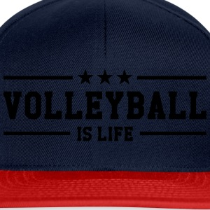 Volleyball is life Tee shirts - Casquette snapback