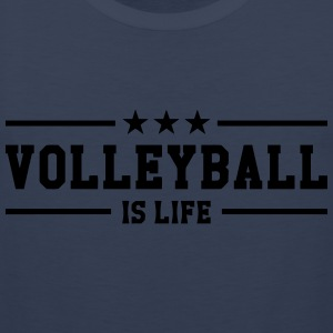 Volleyball is life Skjorter - Premium singlet for menn