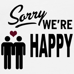 Sorry we are happy - boys Badges - T-shirt Premium Homme