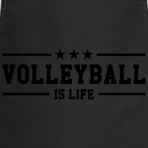 Volleyball is life Tee shirts - Tablier de cuisine
