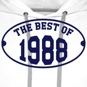 The Best Of 1988 T-Shirts - Men's Premium Hoodie