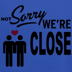 Not Sorry we are close - boys Sweat-shirts - Débardeur Femme marque Bella