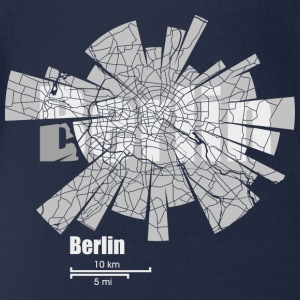Berlin Shirts - Organic Short-sleeved Baby Bodysuit