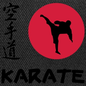 Karate Tee shirts - Casquette snapback
