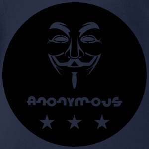 Anonymous T-Shirts - Baby Bio-Kurzarm-Body