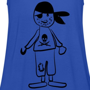 Pirat T-Shirts - Frauen Tank Top von Bella