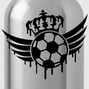 Soccer Blazon Logo Graffiti T-shirts - Drinkfles