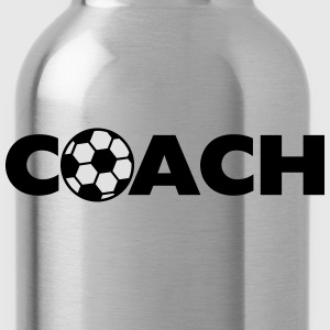 Soccer Ball Coach Logo Design T-shirts - Drinkfles