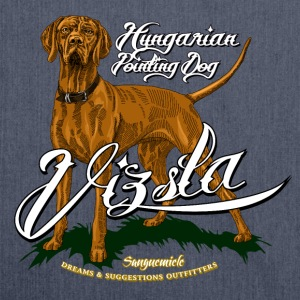 vizsla T-Shirts - Shoulder Bag made from recycled material