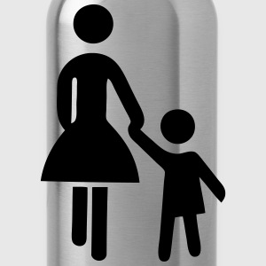 mother daughter - Water Bottle