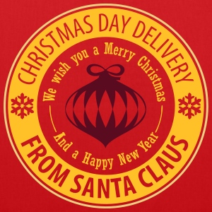 Christmas Day Delivery From Santa Claus Pullover & Hoodies - Stoffbeutel