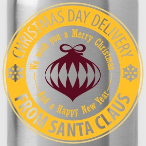 Christmas Day Delivery From Santa Claus Pullover & Hoodies - Trinkflasche